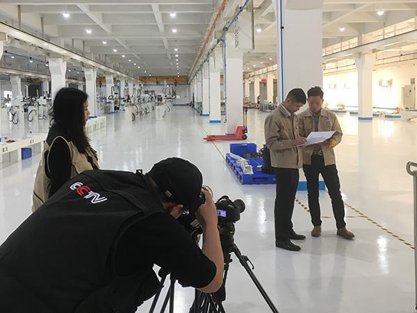 CCTV瑞泰风纪录片客户现场拍摄
