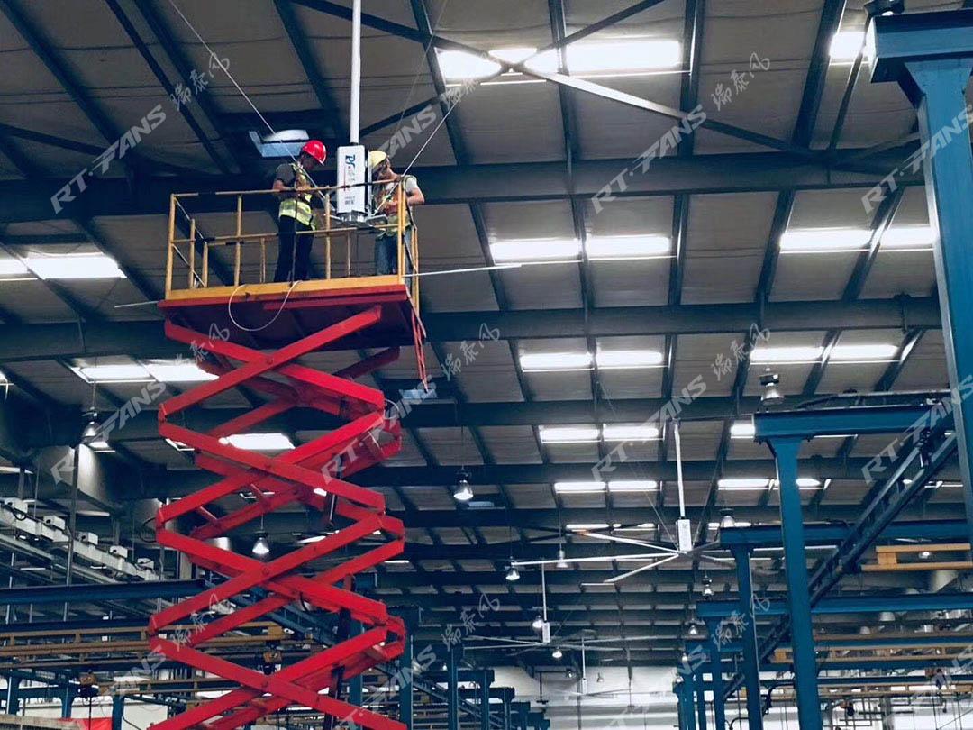 超大工业吊扇究竟适用于那些场所呢
