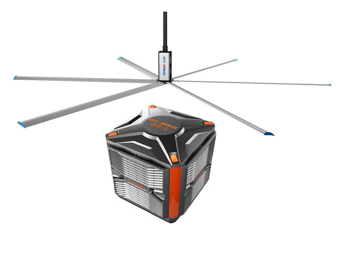 浅谈夏季铁皮棚车间使用扇机组合-工业大万博max手机客户端-冷风机的优势