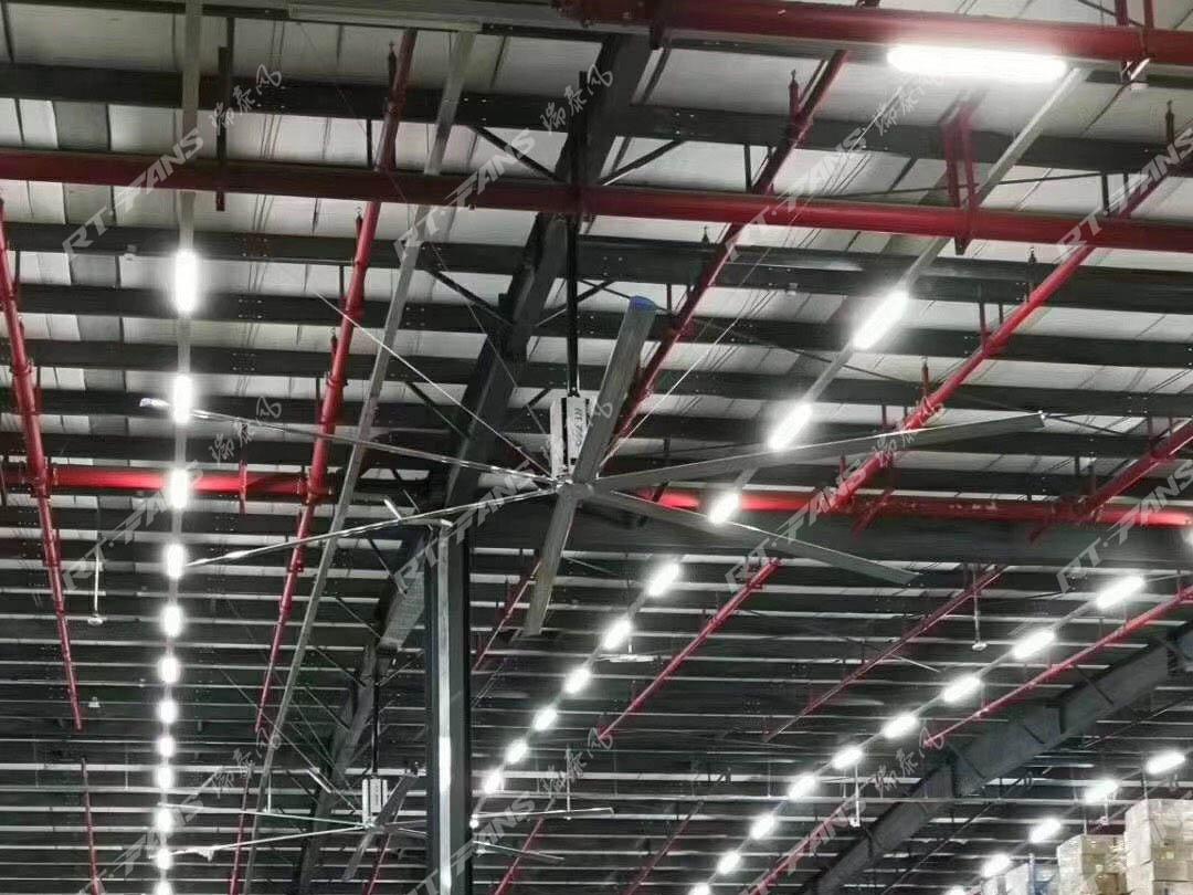 厂房闷热潮湿-大型工业吊扇新时代的选择
